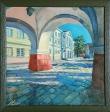 Aukcja charytatywna obrazów winnickich artystów
