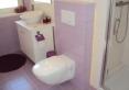 łazienka fioletowa